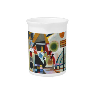 Kandinsky's Abstract Painting Swinging Pitcher