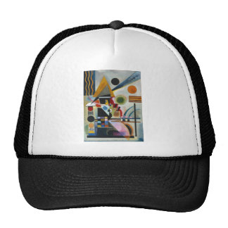 Kandinsky's Abstract Painting Swinging Trucker Hat