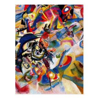 Kandinsky's Composition VII Postcard