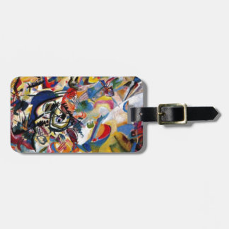 Kandinsky's Composition VII Tags For Luggage