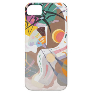 Kandinsky's Dominant Curve Abstract iPhone SE/5/5s Case