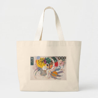 Kandinsky's Dominant Curve Abstract Large Tote Bag