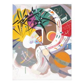 Kandinsky's Dominant Curve Abstract Letterhead