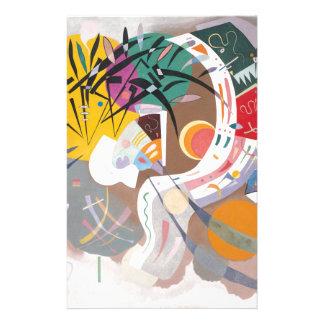 Kandinsky's Dominant Curve Abstract Stationery
