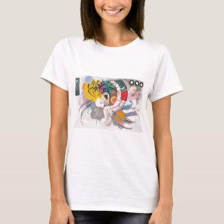 Kandinsky's Dominant Curve Abstract T-Shirt