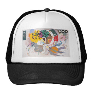 Kandinsky's Dominant Curve Abstract Trucker Hat