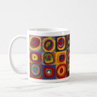 Kandinsky's Squares Mug