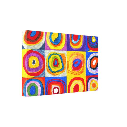 Kandisnky Circles Canvas Print