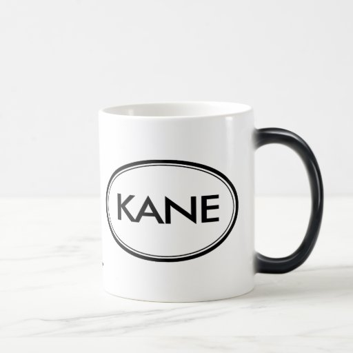 Kane 11 Oz Magic Heat Color-Changing Coffee Mug