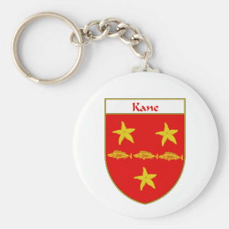 Kane Coat of Arms Family Crest Keychains