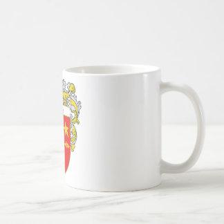 Kane Coat of Arms (Mantled) Coffee Mug