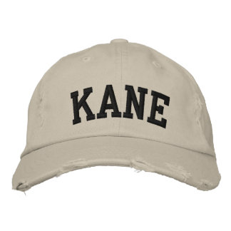 Kane Embroidered Hat
