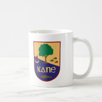 Kane Family Crest Classic White Coffee Mug