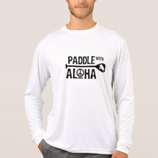 Kane Paddle with Aloha Rash Guard T-Shirt