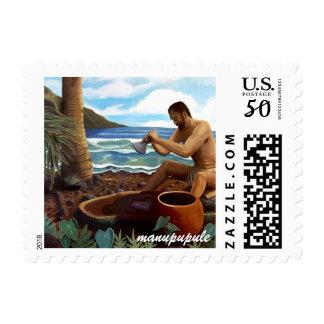 kane pounding poi stamp