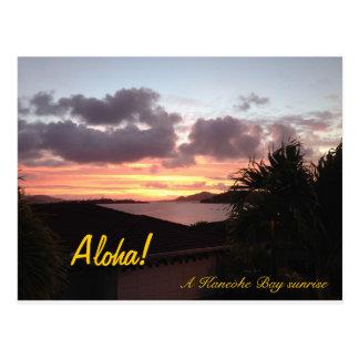 Kaneohe Bay Sunrise Postcard