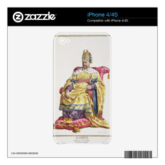 Kang Tsi (1662-1722) Manchu Emperor of China from Decals For iPhone 4S