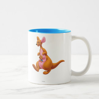 Kanga and Roo Two-Tone Coffee Mug