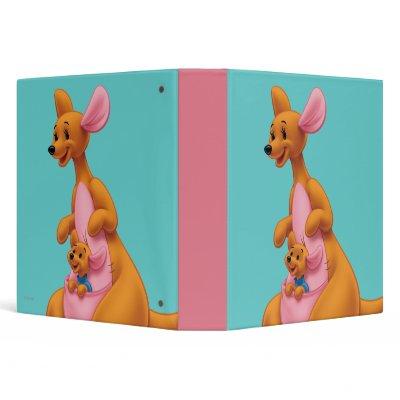 Kanga and Roo Vinyl Binders