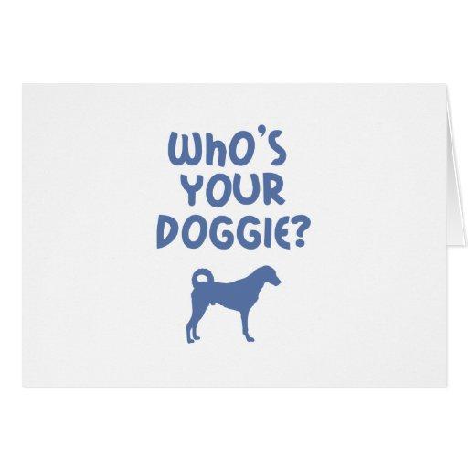 Kangal Dog Greeting Card