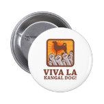 Kangal Dog Pinback Buttons