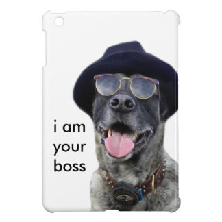 kangal dog with hat and eyeglasses cover for the iPad mini