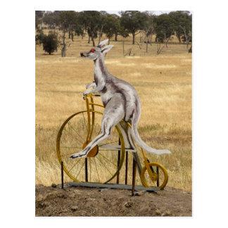 Kangaro On Wheels Postcard