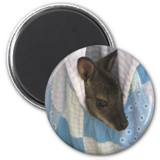 Kangaroo 2 Inch Round Magnet