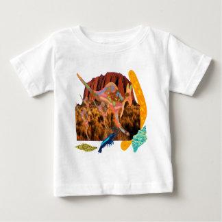 kangaroo,Aborigin,Australia collection Baby T-Shirt
