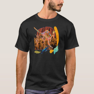 kangaroo,Aborigin,Australia collection T-Shirt
