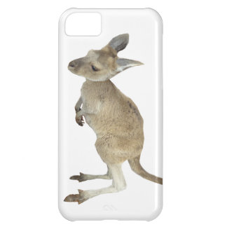 Kangaroo and Animal Peace Sign iPhone 5C Cover