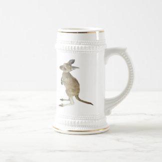 Kangaroo and Animal Peace Sign Mugs