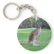 Kangaroo and Joey Keychain