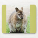 Kangaroo Art Mouse Pad