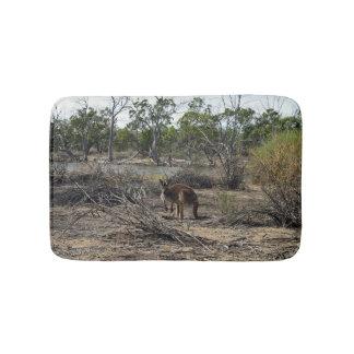 Kangaroo At The Billabong, Sm Memory Bath Mat