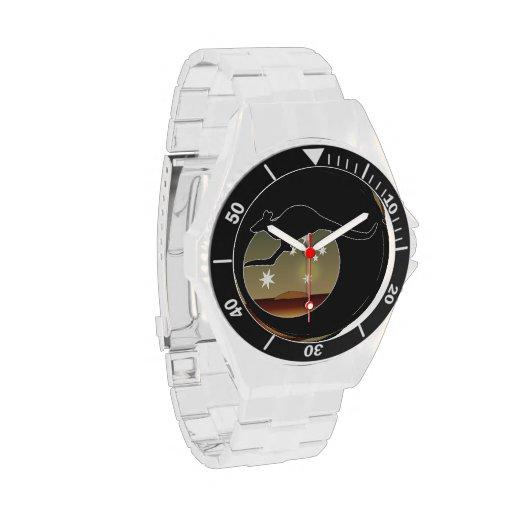 Kangaroo Aussie Icon Classic Stainless Steel Watch