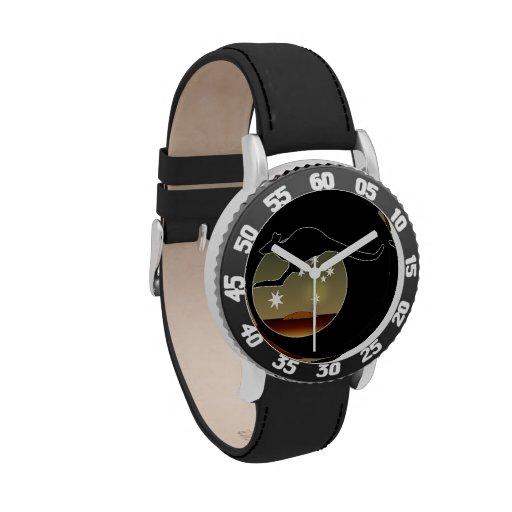 Kangaroo Aussie Icon  Kids Adjustable Bezel Watch
