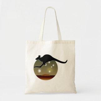 Kangaroo Aussie Icon Tote Bag