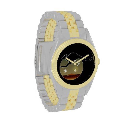 Kangaroo Aussie Icon Two Tone Watch
