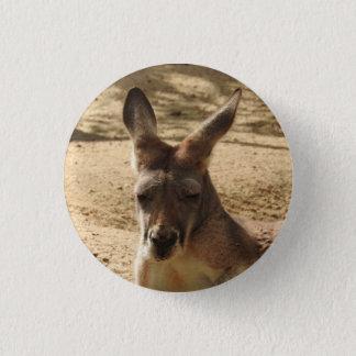 Kangaroo Badge Button