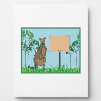 Kangaroo Base Photo Plaques