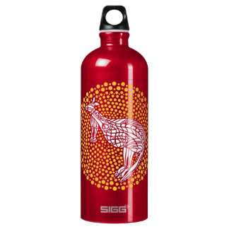 Kangaroo Billabong Aluminum Water Bottle