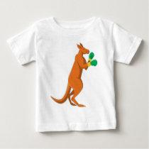 kangaroo boxer boxing retro baby T-Shirt