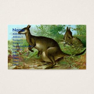 Kangaroo Business Card