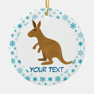 Kangaroo Christmas Ornament Gift