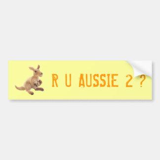 Kangaroo Collection Bumper Sticker