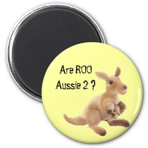 Kangaroo Collection Refrigerator Magnet