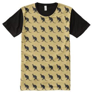Kangaroo contour All-Over-Print T-Shirt