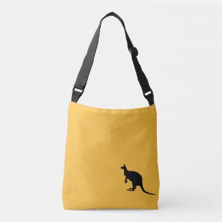 Kangaroo contour crossbody bag