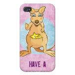 Kangaroo Cool -  iPhone 4 Cover